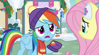 "Rainbow Dash ""there's gotta be something"" MLPBGE"