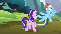 Rainbow Dash --I'll introduce you-- S6E6