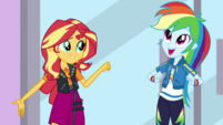 Rainbow Dash comes up with an idea EGDS2