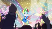 Rainbow Dash playing lead guitar EG2