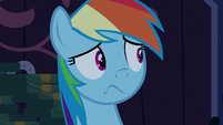 Rainbow Dash still in shock S6E15