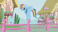 Rainbow Dash waiting impatiently S01E04