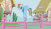 Rainbow Dash waiting impatiently S01E04