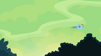 Rainbow flies off S4E04