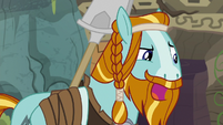 "Rockhoof ""have to work faster than that"" S8E21"