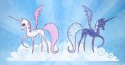 S01E01 Celestia i Luna dawniej