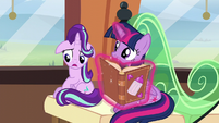 "Starlight Glimmer ""actually, Twilight"" S6E1"