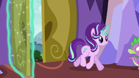 Starlight following Spike and Ember S7E15