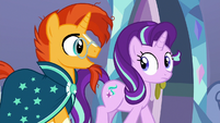 "Sunburst ""maybe we should ask Twilight"" S7E24"