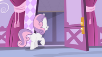 Sweetie leaving the room S4E19