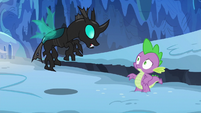 Thorax --the ice is pretty slippery-- S6E16