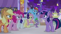 "Twilight ""whatever problems come our way"" S9E17"
