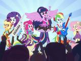 My Little Pony Девочки из Эквестрии: Радужный рок/Короткометражки