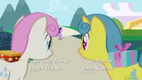 Twinkleshine and Lemon Hearts watch Twilight run off S1E1