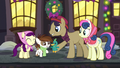 An Earth pony gives Pipsqueak a duck doll S06E08.png