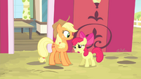"Apple Bloom ""I don't need you watchin' over me!"" S4E17"