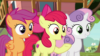 "Apple Bloom ""almost as good as bein' in class!"" S8E12"