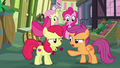 Apple Bloom and Scootaloo pretending to argue S8E12.png
