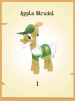 Apple Strudel in-game model MLP mobile game