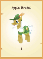 Apple Strudel in-game model MLP mobile game
