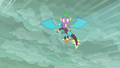 Ember flying with Spike on her back S6E5.png