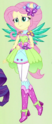 Fluttershy Crystal Wings form ID EG4