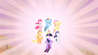 Main ponies Elements Fully Activated S2E2