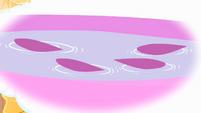 Petals floating on a liquid S4E11
