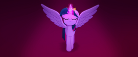 Princess Twilight Sparkle meditating MLPTM