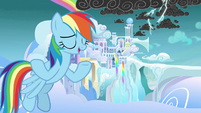 "Rainbow ""drop of rain or flake of snow"" S8E25"