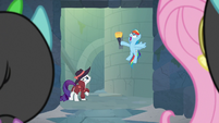 "Rainbow ""secret passage to the castle!"" S9E4"