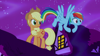 """Rainbow Dash """"turns any more of this dream against us"""" S5E13"""