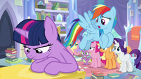 "Rainbow Dash ""we know things look bad"" S9E25"