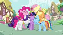 Rainbow Dash missing element animation error S3E13