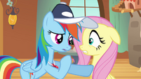 Rainbow Dash realization S2E22