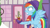 Rainbow Dash shocked to see Discord MLPBGE