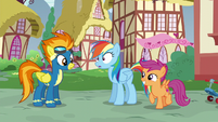 Rainbow Dash still in stunned silence S6E7