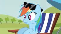 Rainbow Dash wordless S3E3