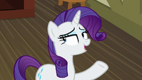 "Rarity ""Spike and I can do something"" S9E19"