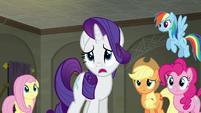 Rarity --I don't even have a single employee-- S6E9