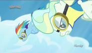 S06E24 Rainbow Dash i Vapor Trail