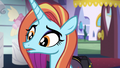 """Sassy Saddles confused """"Ponyville?"""" S5E14.png"""