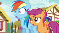 Scootaloo --she's only in the Reserves-- S6E7