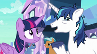 Shining Armor --would be great to get a break-- S6E1