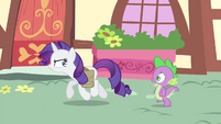 Spike -we get a little breakfast- S4E23