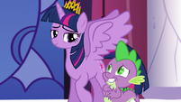 Spike embarrassed S5E10