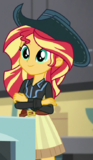Sunset Shimmer cowgirl outfit ID EGS1