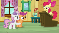 Sweetie Belle --Maybe whatever we want--- S6E4
