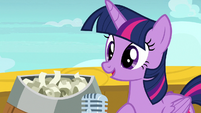 "Twilight Sparkle ""without further ado"" S7E22"