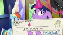 Twilight Sparkle thinking to herself S9E1